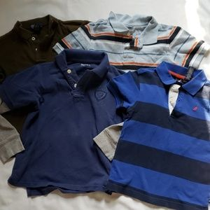 Lot of 4 kids polos